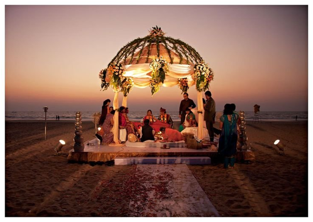 Alibag a perfect beach wedding destination